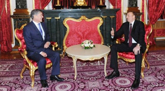 Atambayev və Əliyev